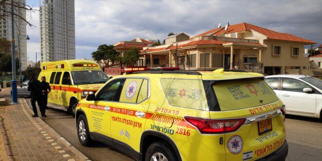 שני נערים בני 15 ו- 17 נפצעו בינוני מפיצוץ של חומר כימי בבית בחדרה
