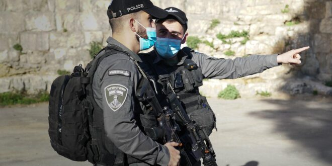 """לוחמי מג""""ב פועלים למנוע הסתננות שב""""חים לעיר העתיקה בירושלים"""