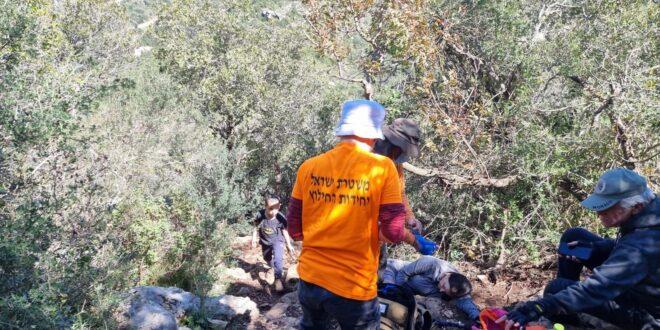 חולצה מטיילת בת 65 מזיכרון יעקב ברכס אצבע שבשמורת הר הכרמל