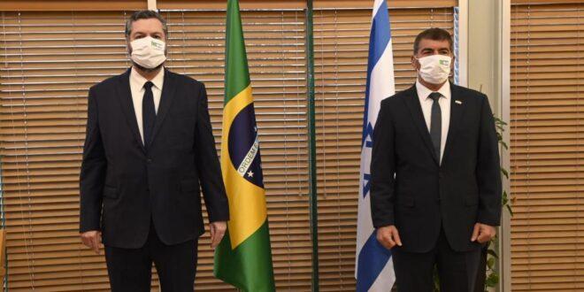 שר החוץ למקבילו הברזילאי: מודה על עמדתכם כנגד החלטת התובעת בהאג