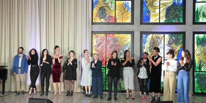 נשיא המדינה אירח את המופע 'נשים יוצרות תיאטרון ישראלי'