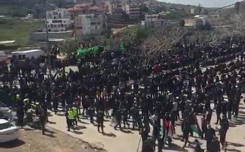 """המשטרה נערכת להפגנה באום אל פחם, ח""""כ עודה: משטרה שפלה וגזענית"""