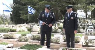 """""""כל שוטר נושא עמו את זיכרונם ומורשתם של חללי משטרת ישראל, ואת צו השליח..."""
