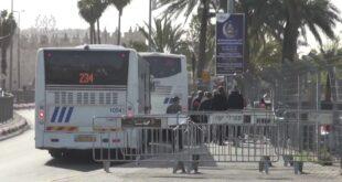 """מאות שוטרים ולוחמי מג""""ב נערכו החל משעות הבוקר באזור העיר העתיקה וברחבי..."""