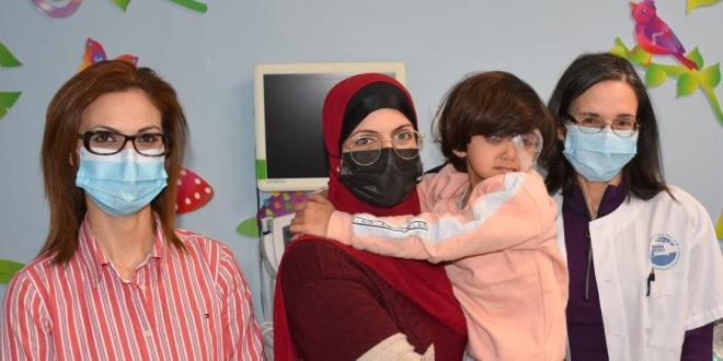 """בי""""ח פוריה: בת שש ניצלה מעיוורון הנגרם בשל מחלה גנטית נדירה ביותר"""