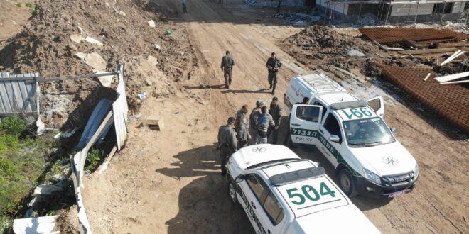 1300 שוהים בלתי חוקיים אותרו על ידי המשטרה בשבוע האחרון