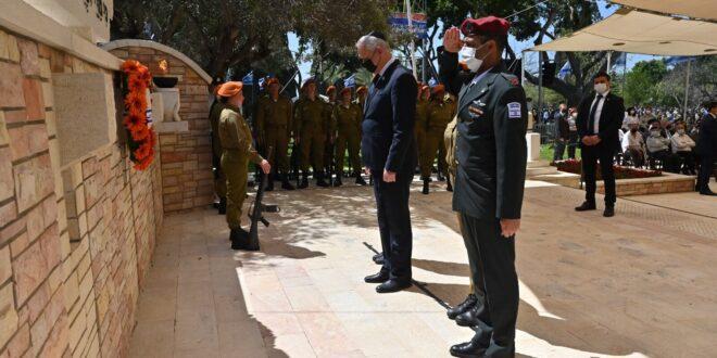 שר הביטחון: יש לנו מחויבות גם לחיים שנושאים בגופם ובנפשם את צלקות המלחמה