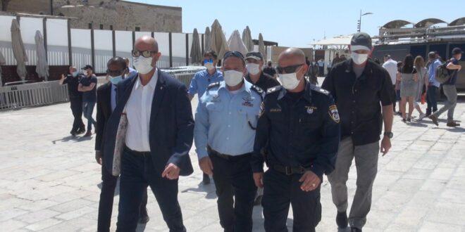 משטרת ישראל נערכת הערב בכוחות מתוגברים בירושלים