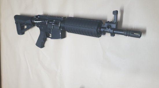 רובה מסוג M16, מחסניות ותחמושת אותרו אתמול במבנה נטוש בטייבה