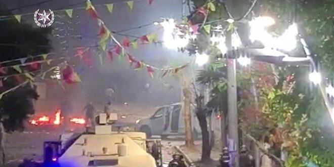 המהומות בוואדי ערה: 36 חשודים בתקיפת שוטרים ויידוי אבנים נעצרו