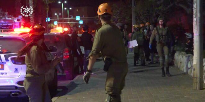 מבצע שומר החומות: עשרות רקטות נורו מרצועת עזה לעבר מרכז הארץ