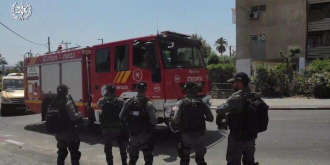 האלימות בערים המעורבות: 270 מתפרעים נעצרו, 12 שוטרים נפצעו