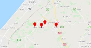 אזעקת צבע אדום:   11/05/2021 00:16:35: • אזור עוטף עזה: כפר ...