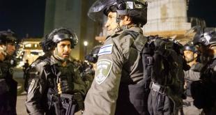 """מאות שוטרים ולוחמי מג""""ב פרוסים בעיר לוד בעקבות אירועי האלימות הקשים המ..."""
