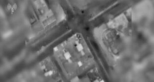 מטוסי קרב של צה״ל תקפו לפני זמן קצר מבנה שבשימוש ארגון הטרור...