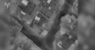 """צה""""ל תקף את ביתו של מפקד גדוד בארגון הטרור חמאס.  לפני זמן ק..."""