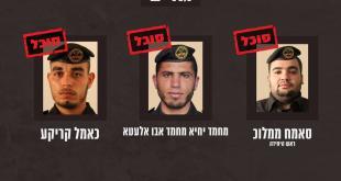 """בכירי ארגוני הטרור חמאס וגא""""פ שסוכלו בפעולות משותפות של צה""""ל..."""