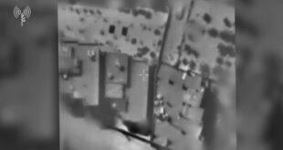 כלי טיס תקפו דירה מבצעית של סגן מפקד גדוד ג׳בלייה של ארגון ה...