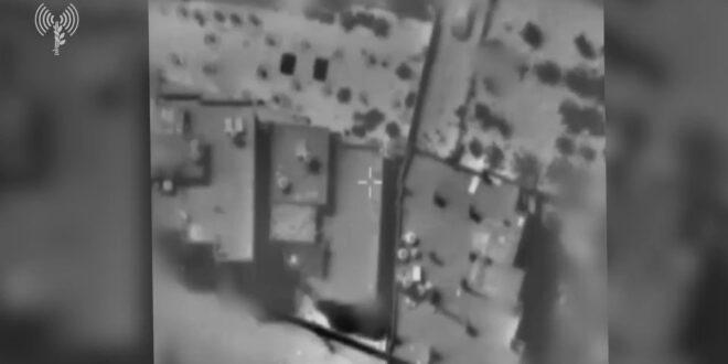 """תיעוד: תקיפות צה""""ל של חוליות ומשגרי נ""""ט של חמאס"""
