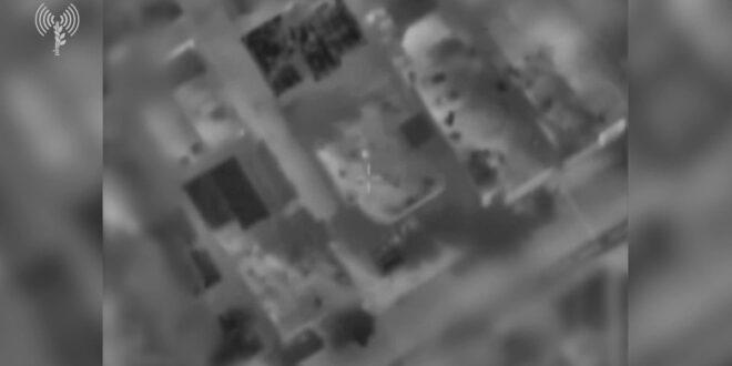 """צה""""ל תקף שתי דירות מבצעיות של פעילי הכוח הימי בחמאס"""