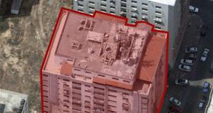 """מטוסי קרב של צה""""ל תקפו לפני זמן קצר מבנה רב-קומות הכולל נכסי..."""