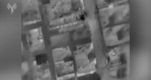 """מטוס קרב של צה""""ל תקף לפני זמן קצר את ביתו של חאלד מנעמרה, מג..."""