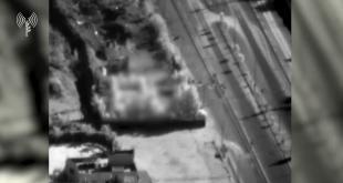 כוח צה״ל תקף מחסן אמל״ח בתוך בסיס צבאי במסגרת סיכול יכולות מ...