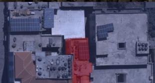 """מטוסי קרב של צה""""ל תקפו לפני זמן קצר בנק מרכזי בשכונת רמאל בר..."""