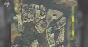 לפני זמן קצר, מטוס קרב תקף את ביתו של מפקד גדוד כפר ג'בליה ב...