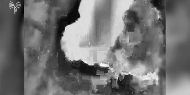 """צה""""ל תקף מתחם מודיעין צבאי של ארגון הטרור חמאס"""