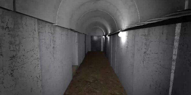 """צה""""ל חשף את פרויקט ה'מטרו' של חמאס – כך זה נראה"""