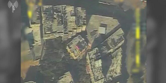 """צה""""ל תקף את ביתו של מפקד גדוד כפר ג'בליה בארגון הטרור חמאס"""