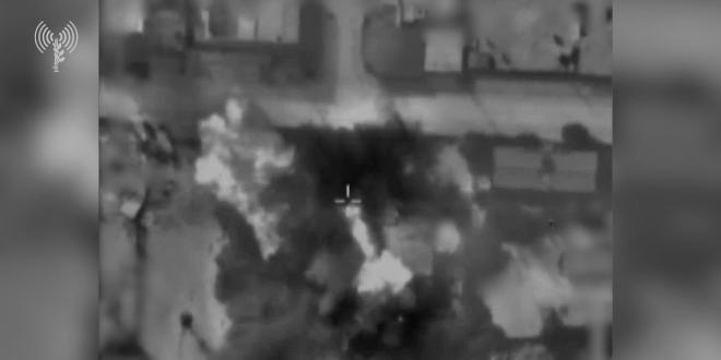 """צה""""ל תקף משרד לביטחון פנים של ארגון הטרור חמאס בעזה"""