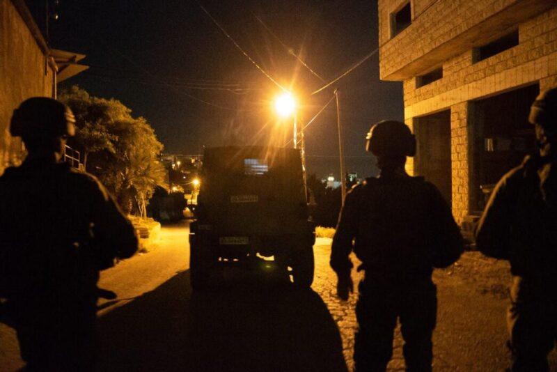 """צה""""ל: ארבעה מחבלים נהרגו בחילופי אש ברמאללה ובאזור ג'נין"""