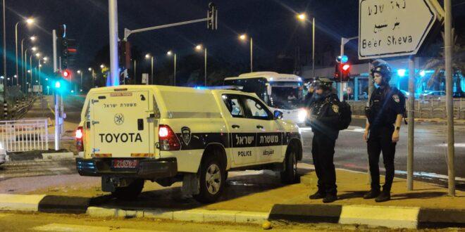 כוחות גדולים של משטרה פועלים בזירות הנפילות במרחב לכיש