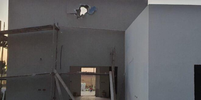 פגיעה ישירה בבית בקיבוץ בכיסופים, אין נפגעים
