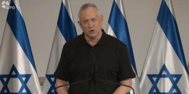 שר הביטחון: אנחנו נחזיר את השקט והביטחון לטווח הרחוק