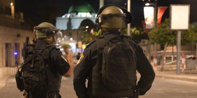 """ראש השב""""כ: """"לא נאפשר לפורעי חוק אלימים להשליט טרור ברחובות ישראל"""""""