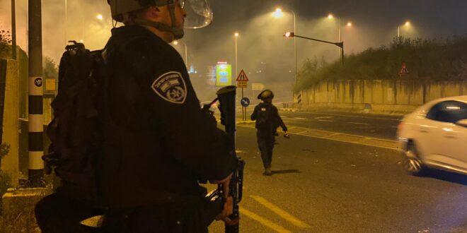 מזרח ירושלים: המשטרה עצרה ארבעה חשודים בגין הפרות סדר אלימות