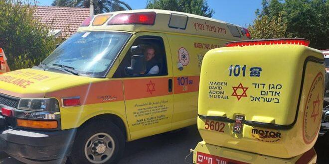 ילד בן שבע נפצע בינוני בדרכו למרחב המוגן בקיבוץ בארות יצחק