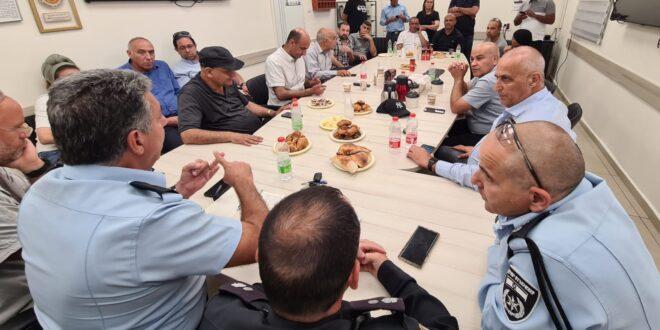 להשבת הסדר: המשטרה נפגשה עם פעילי ציבור וחברי מועצת העיר לוד