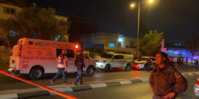 רקטה התפוצצה בחצר בית בבאר שבע, טופלו במקום 3 נפגעי חרדה