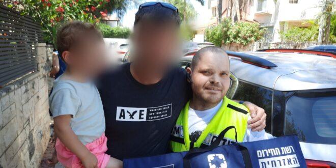 נס ציונה: פעוט כבן שנתיים ננעל בשגגה ברכב לעיני משפחתו וחולץ בשלום