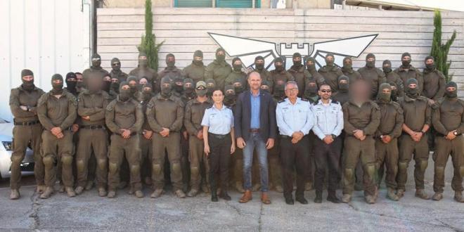 """לוחמי יחידת """"מצדה"""" יפעלו לצד השוטרים להשלטת הסדר בערים"""