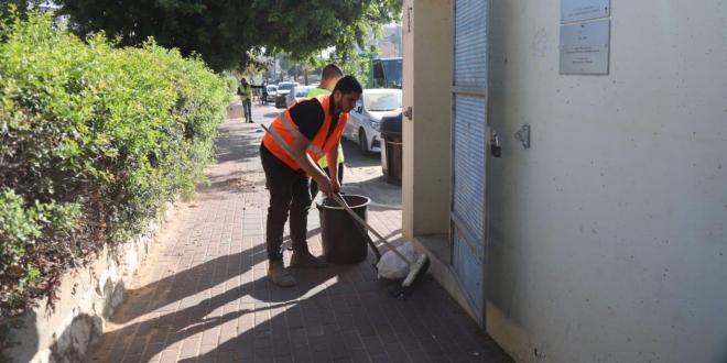 עיריית אשקלון מודיעה: דואגים לניקיון המקלטים והמיגוניות