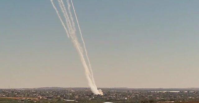 כ- 100 רקטות נורו במטח האחרון לעבר ישראל, לא ידוע על נפגעים