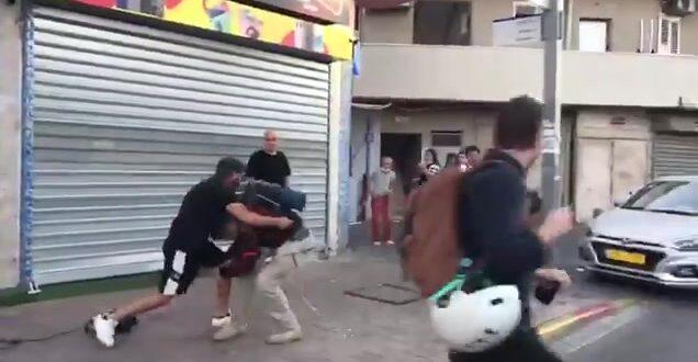 צוות תאגיד השידור הציבורי הותקף בשכונת התקווה בתל אביב