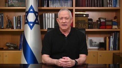 """גנץ: צה""""ל פוגע במטרות צבאיות – חמאס מכוונת לאזרחים"""