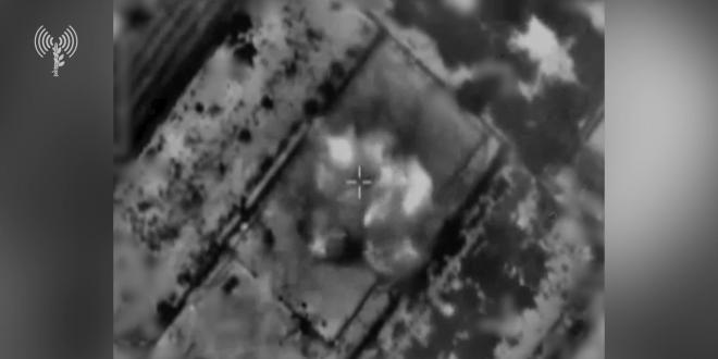 """תיעוד: צה""""ל תקף עשרות משגרי רקטות שכוונו למרכז ולדרום הארץ"""