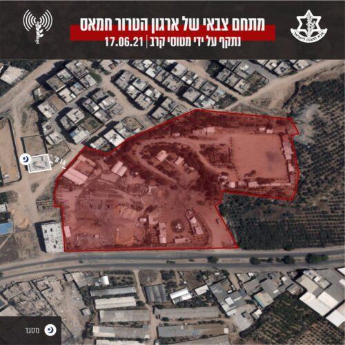 מטוסי קרב תקפו לפני זמן קצר במרחב העיר עזה ובח'אן יונס עמדת ...